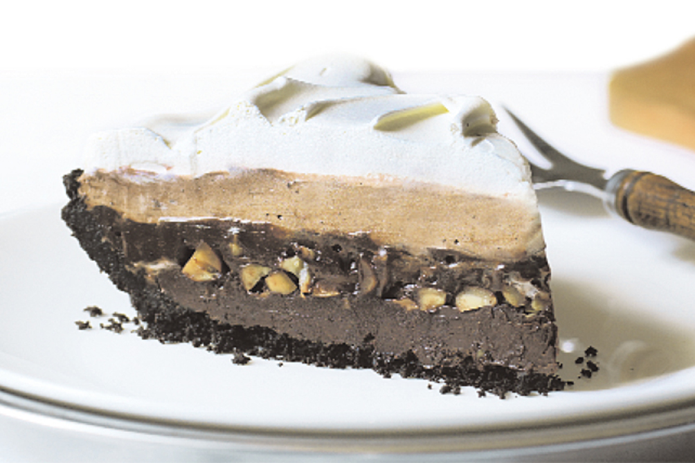 Chocolatey Triple Layer Pie