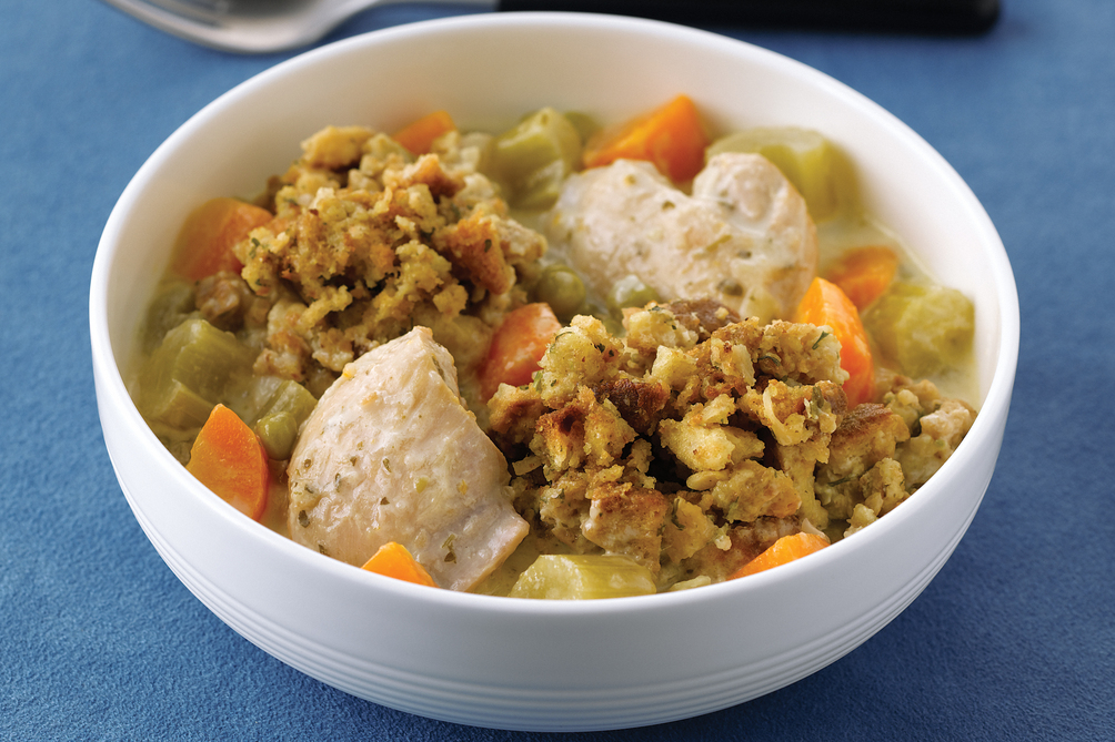 Slow-Cooked Chicken & Dumplings