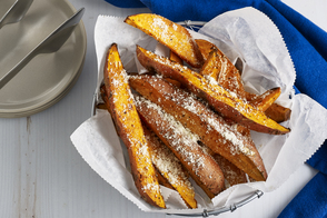 Parmesan-Sweet Potato Fries
