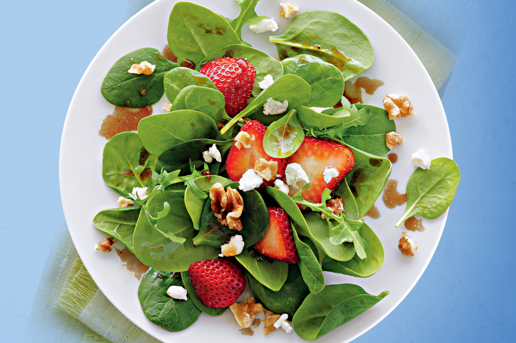 Strawberry & Goat Cheese Salad