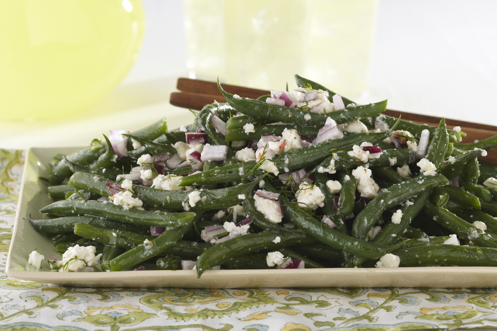 Green Beans and Feta with Dill