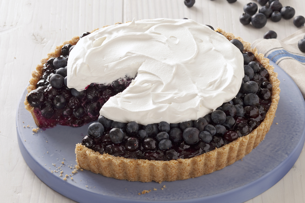 Blueberry Refrigerator Pie