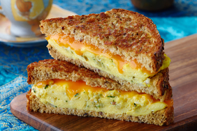 Egg 'n Grilled Cheese Sandwich