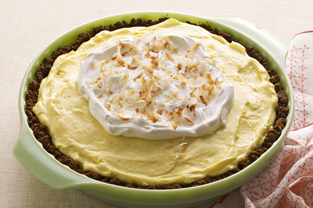 Easy Lemon-Coconut Cream Pie