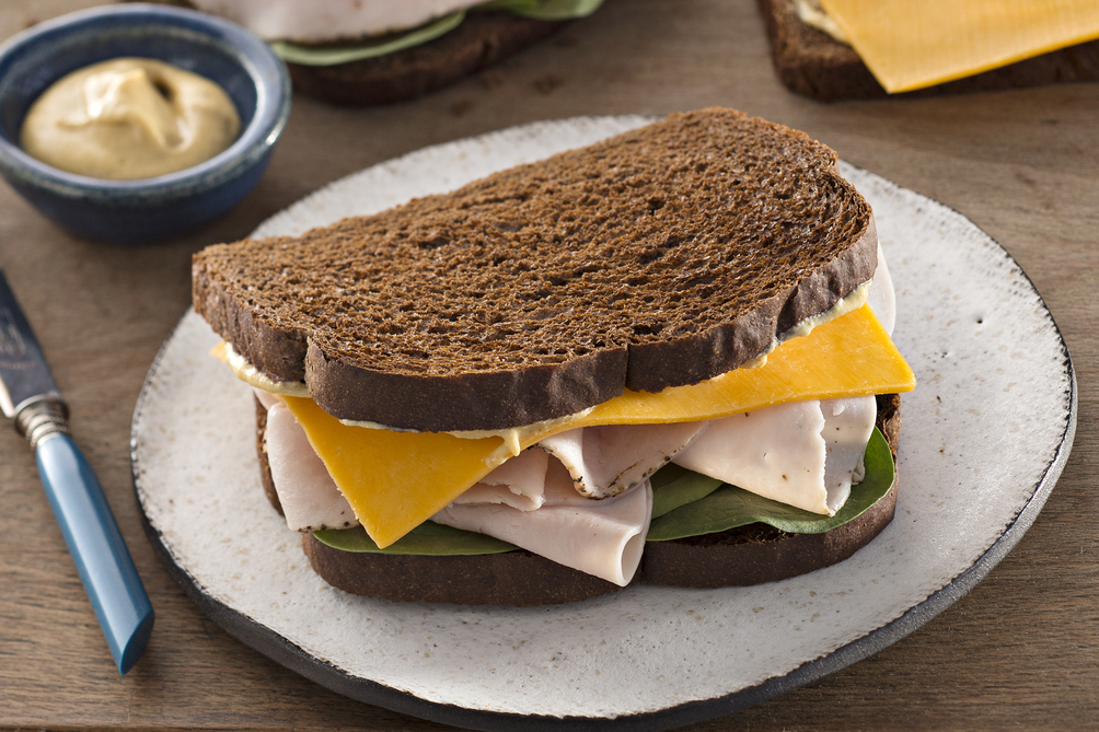 Classic Turkey & Cheese Sandwich