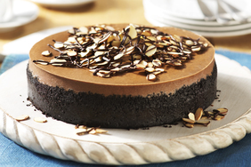 Mocha-Almond Cheesecake
