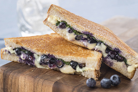 Blueberry-Basil Grilled Cheese