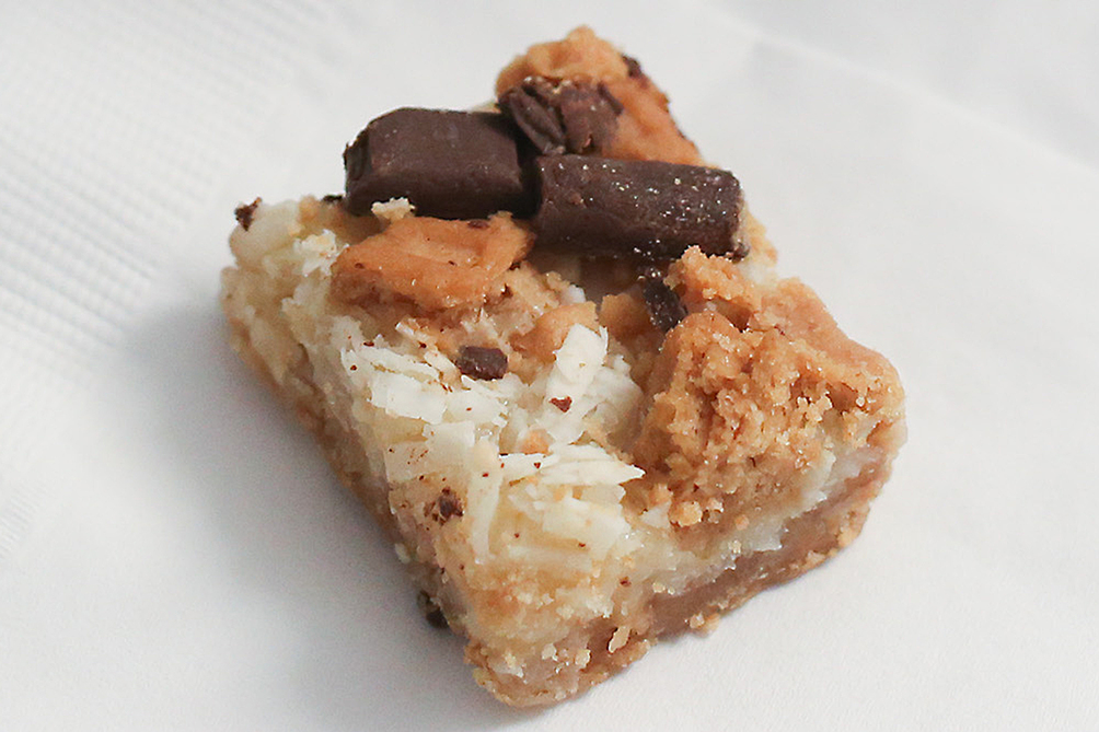 Easy Chocolate-Peanut Butter Cookie Bars