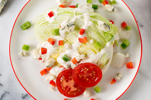 Wedge Salad with Blue Cheese