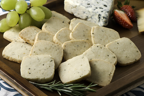 Blue Cheese Shortbread
