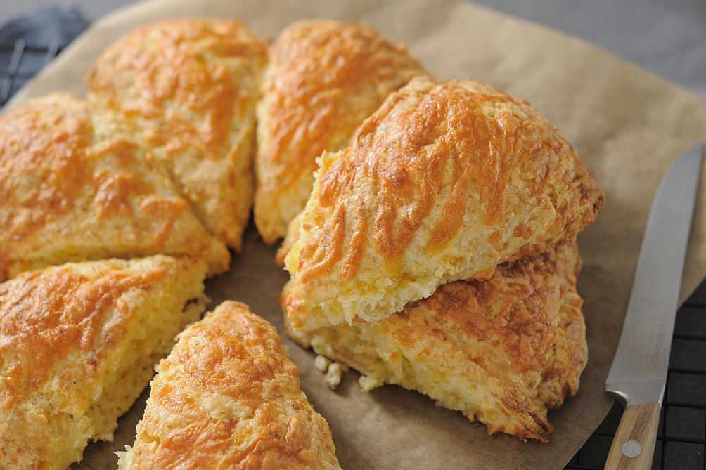 Sharp Cheddar Scones