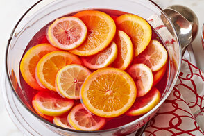 Winter Citrus Sangria