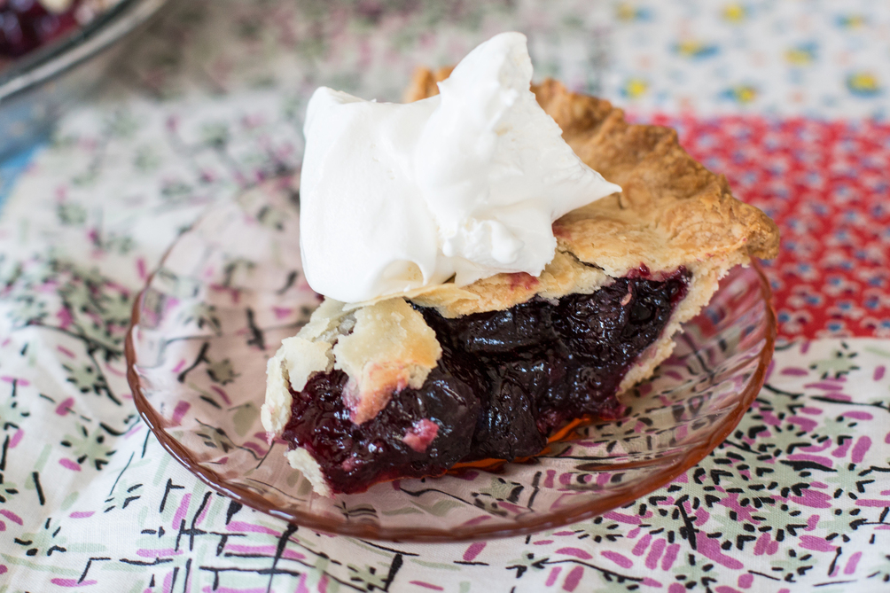 Bing Cherry Pie