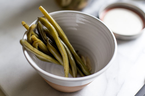 Refrigerator Pickled-Dill Green Beans