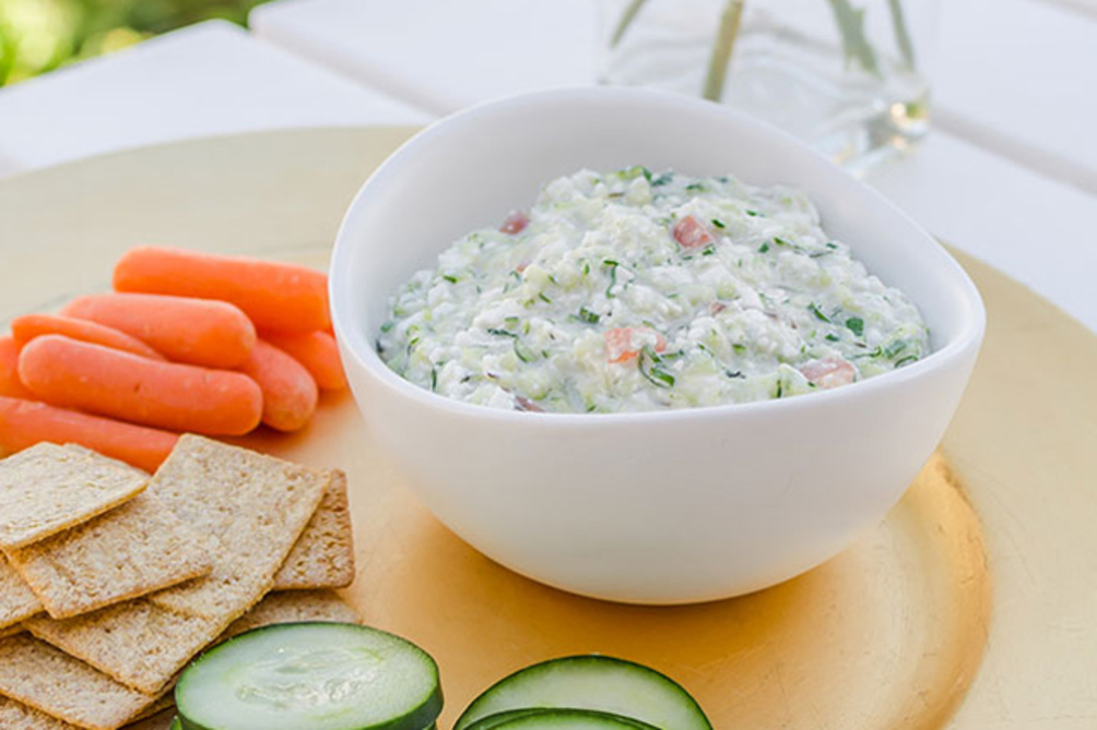 Cheesy Vegetable Dip