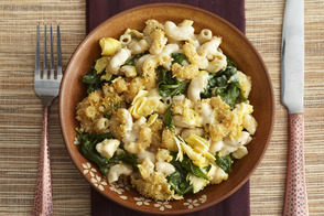 Spinach-and-Artichoke Mac & Cheese