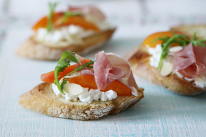 Italian Appetizer Toasts