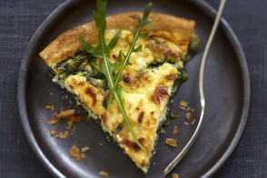 Greek Spinach & Feta Quiche