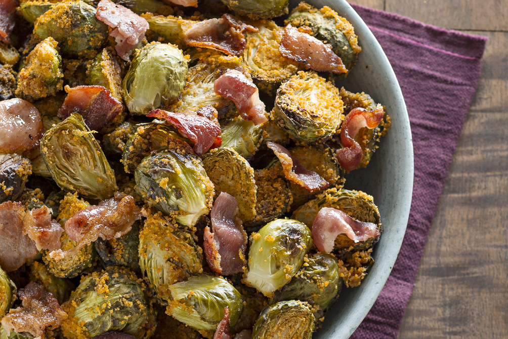 SHAKE 'N BAKE Brussels Sprouts & Bacon