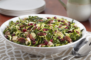 Kale-Pomegranate Salad with Pecans