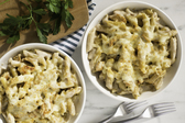 One-Dish French Onion-Chicken Penne