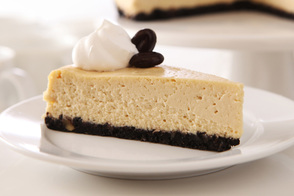 Our Best Coffeehouse Cheesecake