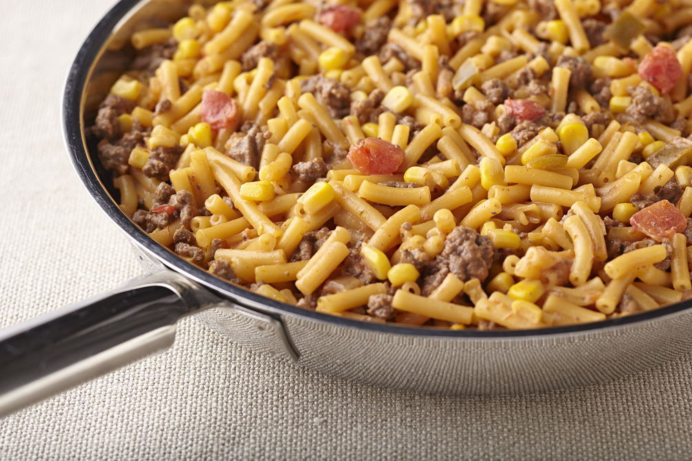 Tex-Mex Beefy Mac and Cheese