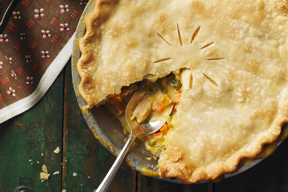 Zippy Turkey Pot Pie