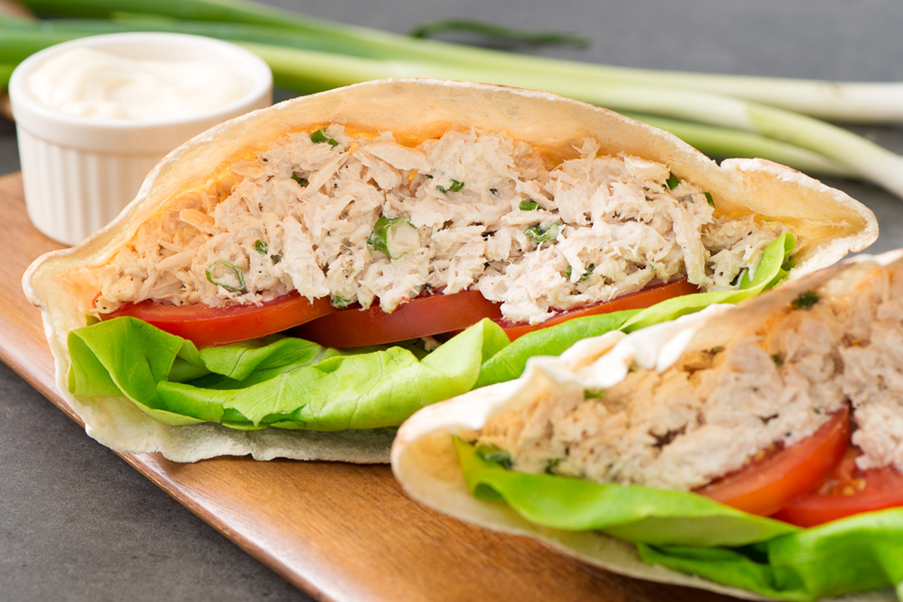 SERIOUSLY GOOD Tuna Salad Pita