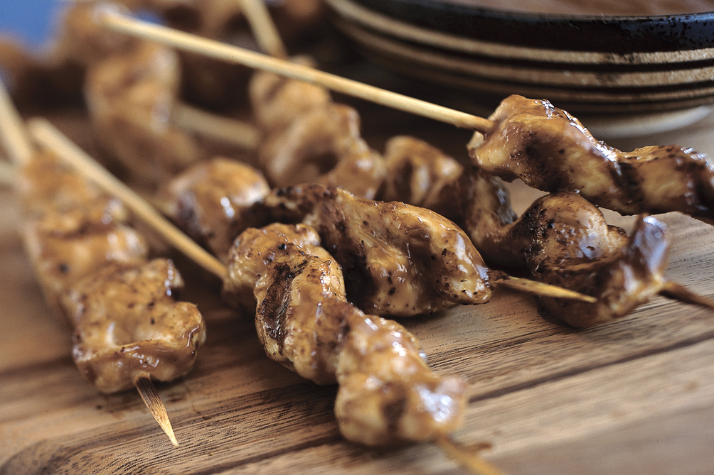 Thai Satay Skewers
