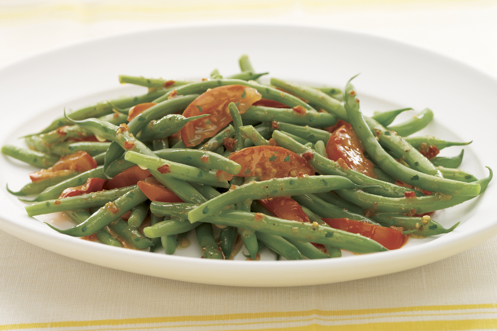 Green Beans and Tomatoes Italiano