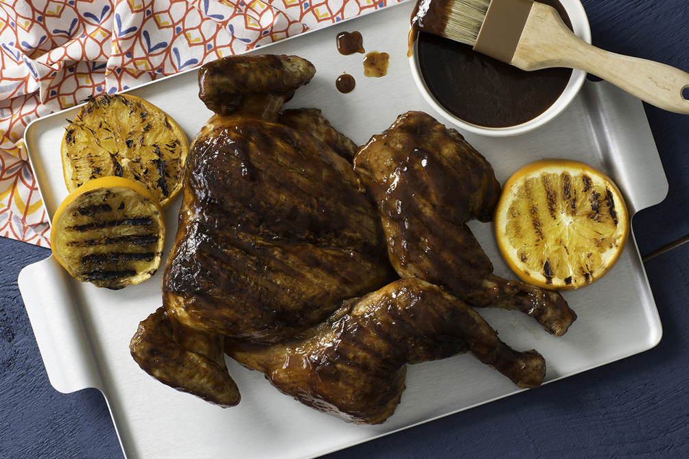 Memphis-Style Sweet & Spicy BBQ Chicken