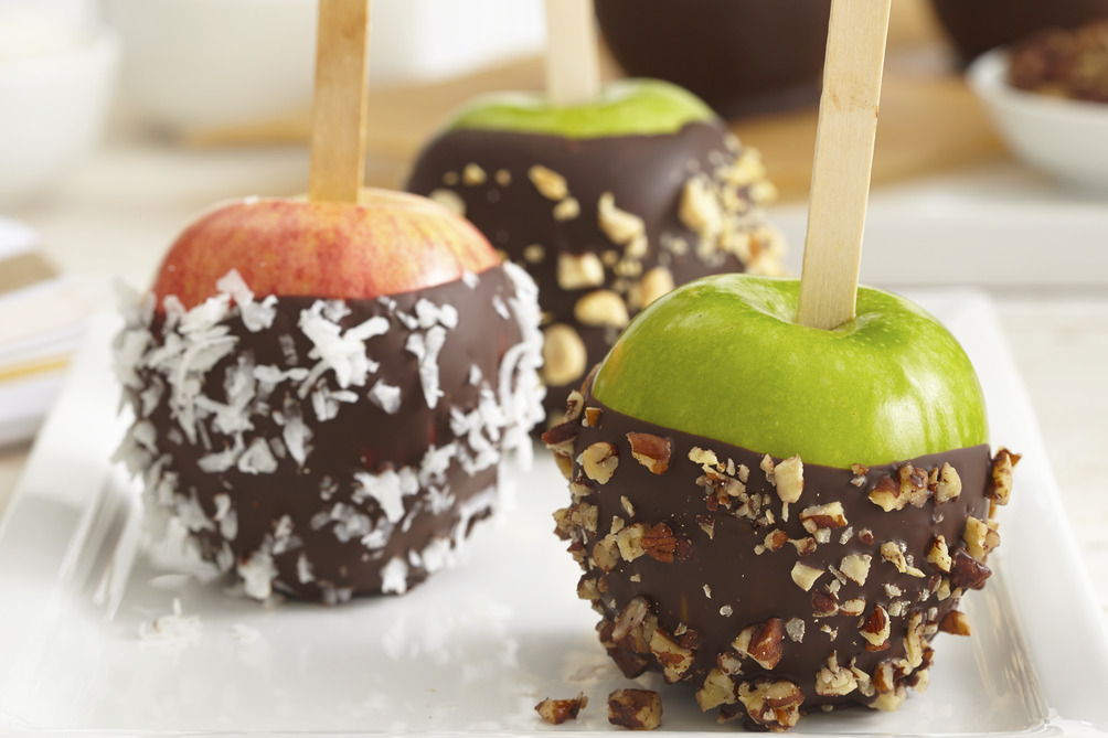 Chocolate-Dipped Apples