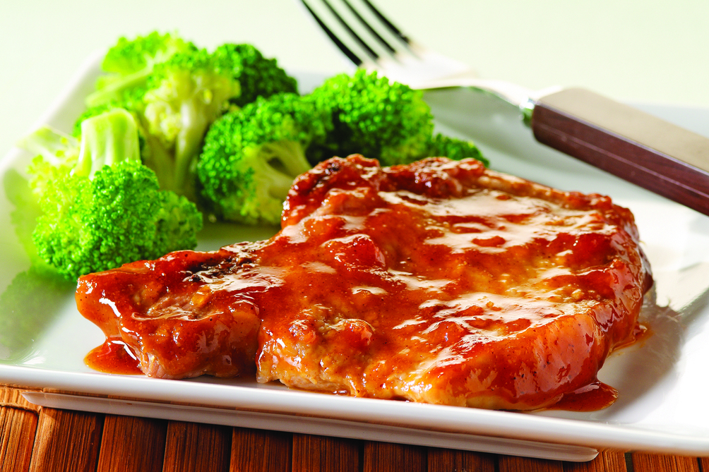 Saucy Baked Chops