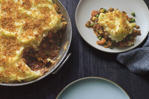 Cajun-Crusted Shepherd's Pie