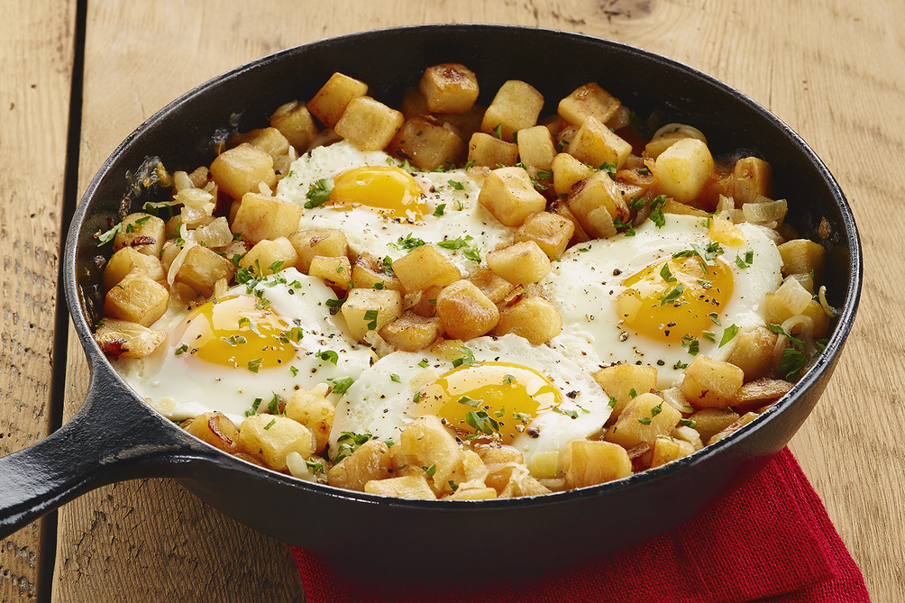 Eggs and Hash Skillet