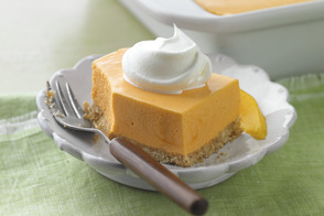 Orange-Mango Mousse Dessert