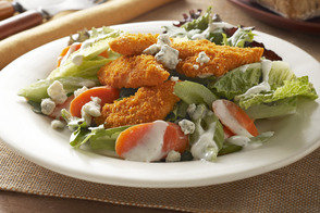 Spicy Chicken Express Salad