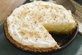 Coconut-Cream Cheese Pie