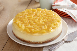 Pineapple-Topped New York Cheesecake