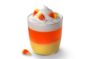 JELL-O Candy Corn Cups