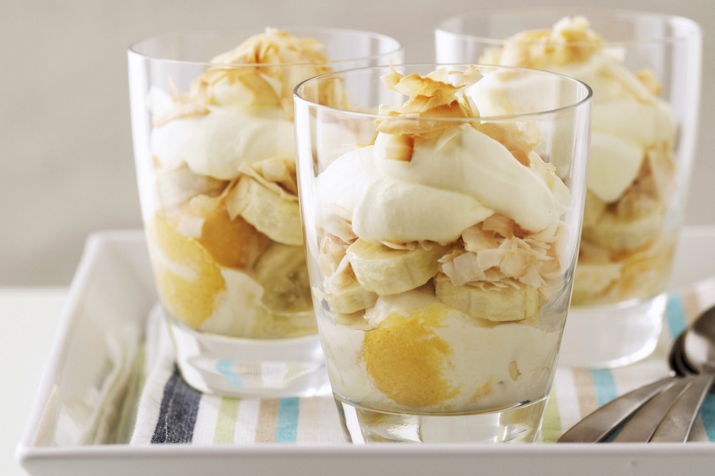 Creamy Tropical Parfait