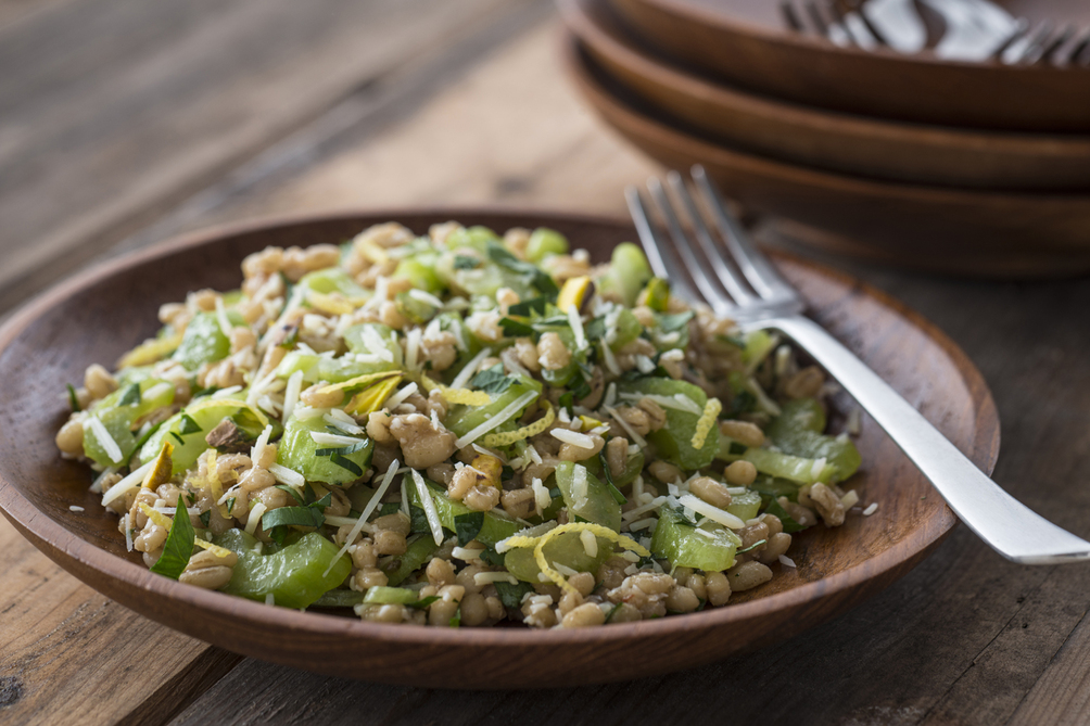 Barley, Parsley and Celery Salad