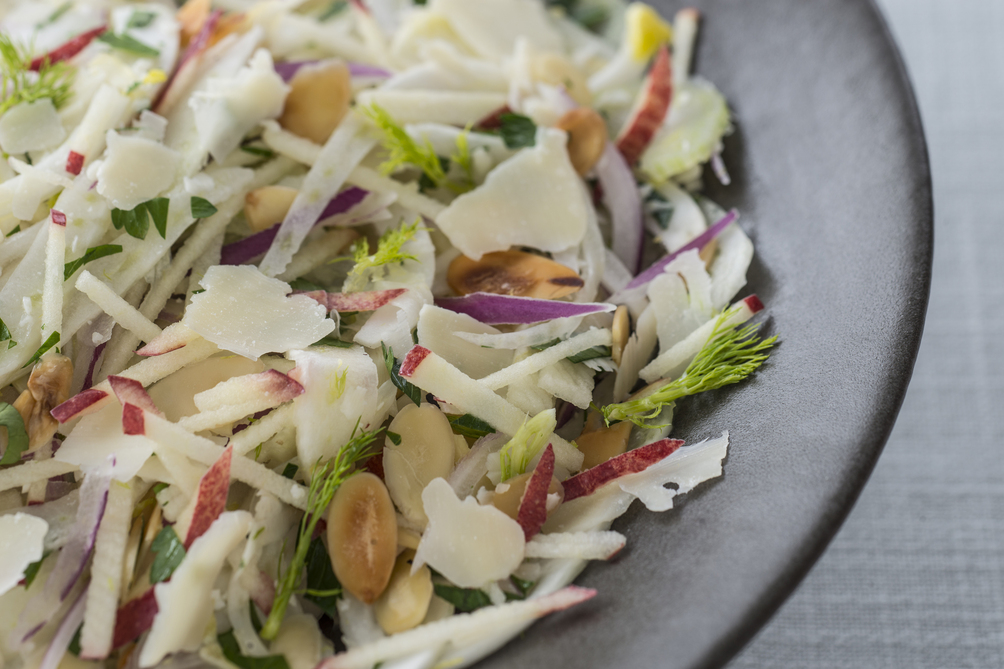 Apple, Fennel and Parmesan Salad