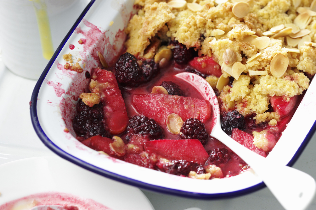 Apple-Berry Crisp