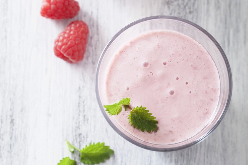 Raspberry-Lemon Smoothie