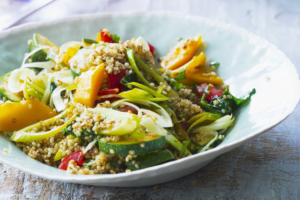 Vegetable and Quinoa Pilaf
