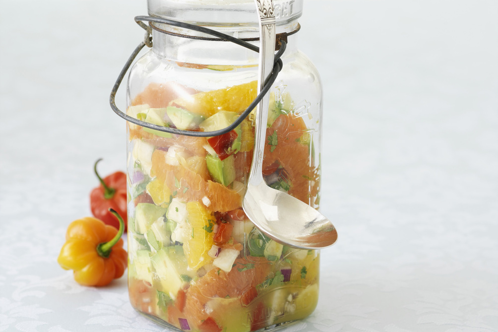 Fresh Citrus-Avocado Salsa