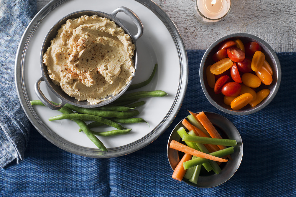 Roasted Cauliflower Hummus