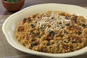 Risotto with Spinach and Herbs